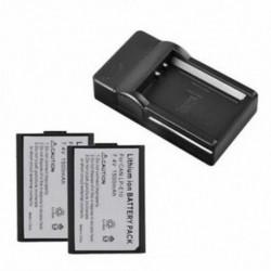 2x 1500mAh akkumulátor LP-E10   töltő EOS 1100D 1200D Rebel T3 K X50 LC Q4G1