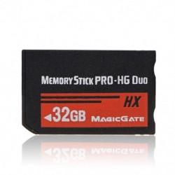 1X (32 GB-os memóriakártya MS Pro Duo HX Flash kártya a Sony PSP Cybershot fényképezőgéphez X4C9