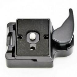 3X (323 gyorskioldó bilincs adapter a kameraállványhoz, Manfrotto 200PL-1 T4H3-tal