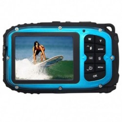 16MP víz alatti digitális videokamera, 30 láb vízálló, porálló, freezepro I5U7