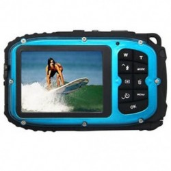 16MP víz alatti digitális videokamera, 30 láb vízálló, porálló, freezepro N1C7