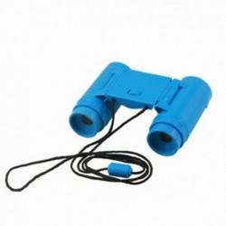 Gyerekek műanyag 26 mm x 2,5x összecsukható távcső távcső játékkék A5M1 O4Y8