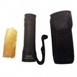 Mini zseb kompakt monokuláris távcső 10x25 kemping vadászat sport túrázás G1Y0