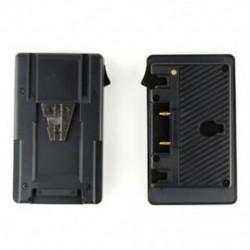 Új, aranyra szerelhető, akkumulátortöltő adapter átalakító konverter D-tap X2X7 porttal