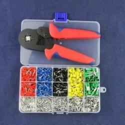 2X (önbeállítható krimpelő fogó   krimpelő csatlakozók készlet AWG24-10 huzal C X5T5