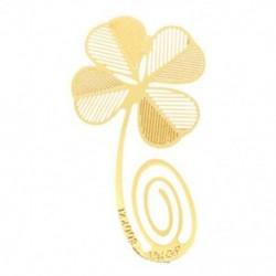 1X (arany lóhere könyvjelző fémlemez-ajándéktárgy-könyv, különféle C3D4-es formát olvasva