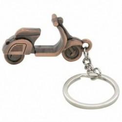 Férfi ajándék motorkerékpár tervezés Függőlánc Charm kulcstartó kulcsfontosságú kulcstartó szilárd N5I0