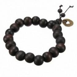 Fa buddhista karkötő gyöngyös gyöngyös szandálfa K4W3 W6L6