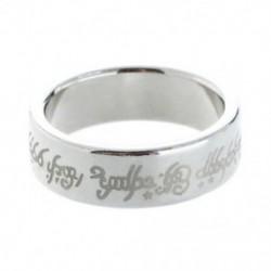 1 x mágneses gyűrű gyűrűk Magic mágnes gyűrű magic Magic Trick Ezüst színű I8S1