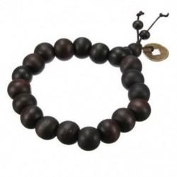 2X (buddhista fa karkötő gyöngyös gyöngyös szandálfa M6Y7)