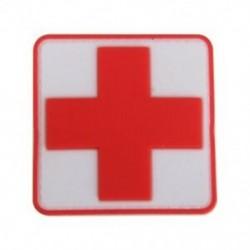 2X (kültéri elsősegélyű PVC piros kereszt horog jelvény javítás P2A1)