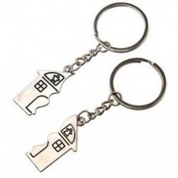 1X (2 db ház alakú mágneses kulcstartó kulcstartó az Y1S2 szerelmeseinek)