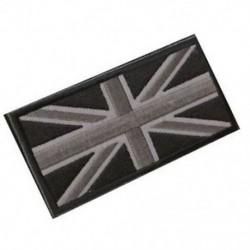FASHION Union Jack UK zászló jelvény javítópálca vissza 10cm x 5cm ÚJ, (fekete / Gr P3T5