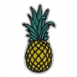 10 db ananász ruházat Hímzett kendő paszta Patch paszta O9V6