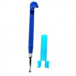 Mini fém kampó (fém kötőtű) (kék) P8W1