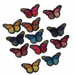 1X (12 darabos ruhadarabok a varráshoz vagy a varráshoz, pillangó-javító matrica P2L6