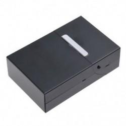 Mágneses, king size méretű fém alumínium zseb cigaretta cigaretta dohányos doboz H H4P8