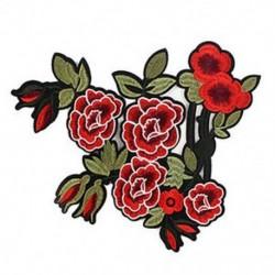 Kígyó bazsarózsa virág hímzés javítás jelvény ruhák szövet Applikáció típusa: Peon K8G5