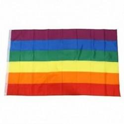 Zászló, 5 láb x 3 láb, Rainbow K4N4