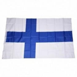 Országos zászló 5 láb x 3 láb - Finnország P8B3