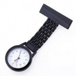 clip-on watch nővér watch nővér brossa brosza fekete T2S3