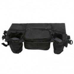 Koffer tárolótáska babakocsihoz, babakocsi leteszi a táskát, az E5U1 tárolótáska