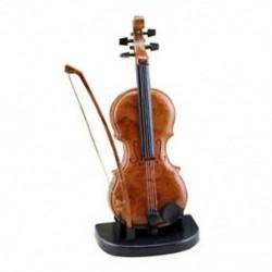 Kézzel rajzolt hegedűs zenei díszek Aranyos mini zenedoboz születésnapi ajándék Vio B6C0