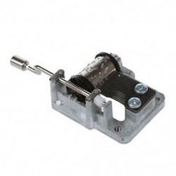 3X (Mini Music Box becsavarozott belső forgási mozgás (EliseďĽďĽ M7H2)