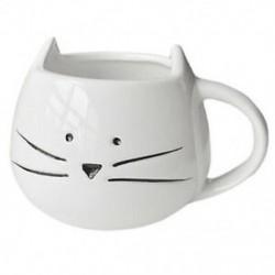 Kávéscsésze fekete macska állati tejcsésze kerámia szerelmeseinek bögre aranyos születésnapi ajándék, S8K6