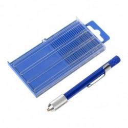 2X (17 darabos finom apró, számozott 61-80 mini ékszerész fúrófej-készlet csapszegű Vise Chuc E7K0