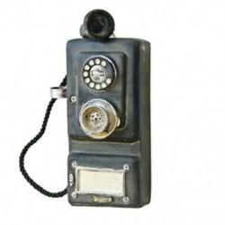 1X (falra szerelhető, vintage telefonos, nosztalgikus kézműves szüreti, régimódi Wa S2C9 kézműves