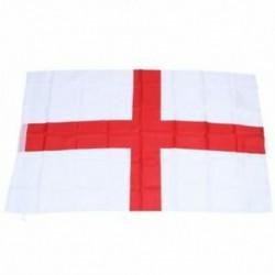 3X (2xEngland (St George) zászló 5 láb x 3 láb J3J9)