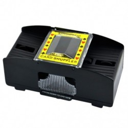 1-2 pakli műanyag automatikus Shuffler Fekete X6J6