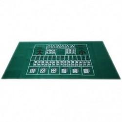 180X90Cm póker asztalterítő Texas Hold`Em póker elrendezések Asztalterítő filc 10 P D8L6