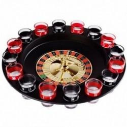 1X (újszerű kreatív ital lemezjátszó játékok orosz rulettkerék 16 Wine CupQ8A3)
