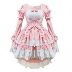 Rózsaszín jelmezek szobalány ruhák anime ruházat cosplay B5B8 E5E5