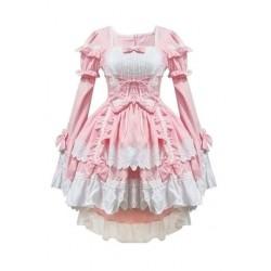 3X (rózsaszín jelmezek szobalány ruhák anime ruházat cosplay P5B6)