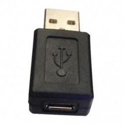 USB A dugasz - mini USB aljzat adapter (fekete) J2P2