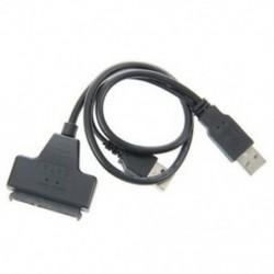 semoic USB 2.0 - SATA soros ATA 15   7 22P adapterkábel 2,5 hüvelykes HDD La V4N7-hez