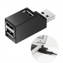 1X (nagy sebességű 3 portos USB 2.0 Multi HUB Splitter bővítő asztali PC B3G4 laptop)
