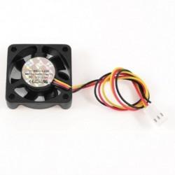 1X (40 mm x 10 mm 4010 8,9 CFM 3Pins 12 V DC kefe nélküli számítógépes hűtőventilátor K9G8)