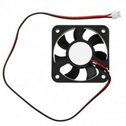 1X (50 mm 12V 2Pin 4000RPM hüvelycsapágy PC tok, CPU hűtőventilátor, S7V9)