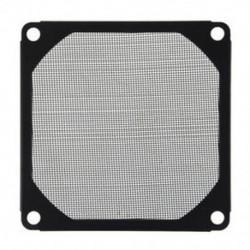 8 cm x 8 cm méretű PC hűtőventilátor, alumínium, pormentes Meshy Filtere Black O2V3