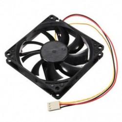 12 V-os 3 tűs CPU ventilátor hűtőborda hűtő hűtő hűtőventilátor PC-re 80x80x15mm F5T1 Q8M5