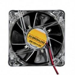 Ventilátor mérete: 80x80x25mm, színes négycsillagos 4 LED-es fény, neontisztítás, 80 mm-es számítógép, E1Y6