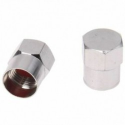 1X (5 minőségi krómszelep porvédő kupak autó- vagy kerékpár cső - G6T2 abroncs)