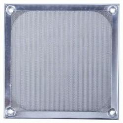 2X (alumínium szűrő porvédő 12 cm-es 120 mm-es PC T5R6 ventilátor tokhoz)