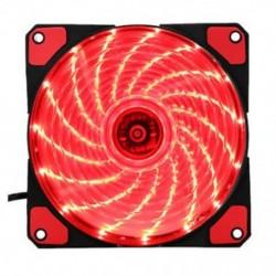 15 lámpa LED PC számítógép alváz ventilátor tokja Hűtőbordás hűtőventilátor DC 1 I1K5
