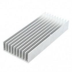 130 mm x 56 mm x 20 mm Hűtőborda hő diffúz alumínium hűtés Fin D3Y2