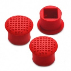 3x ThinkPad laptop TrackPoint Red Cap Collection az IBM / Lenovo ThinkPad C9M7-hez